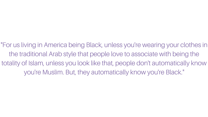 Faheemah's Quote header #BlackMuslimGirlFly feature friday